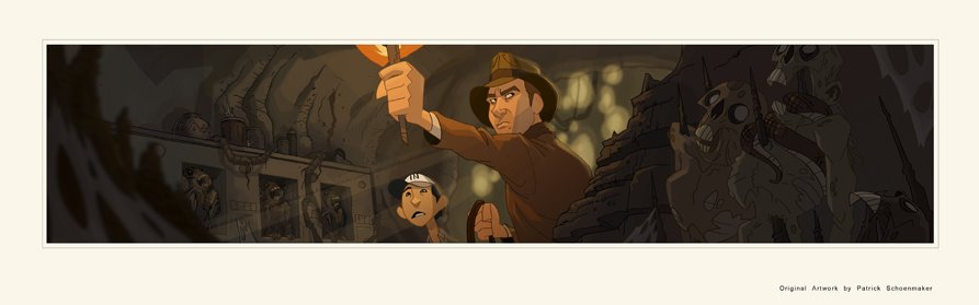 Animated Indiana Jones by patrick Schoenmaker